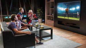 max electronics gledanje utakmice na televizoru